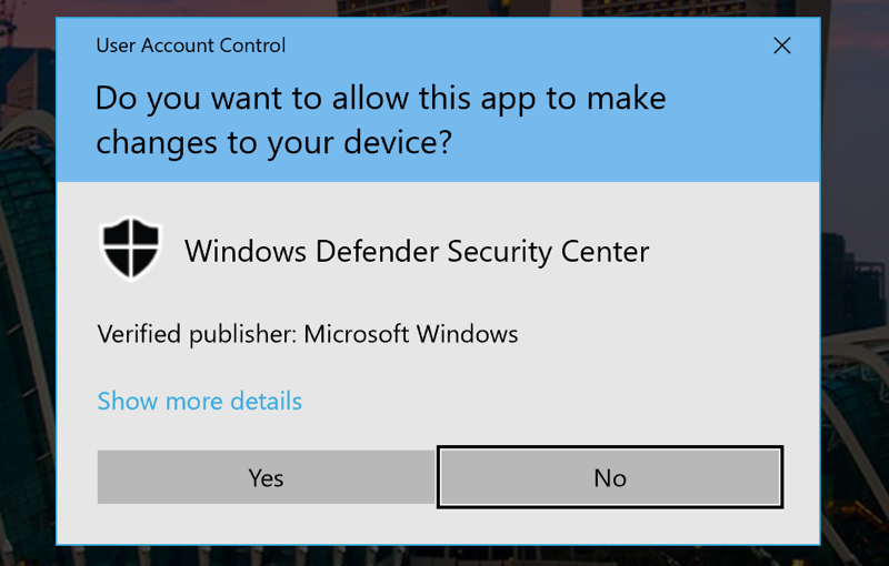 allow windows defender ransomware protection