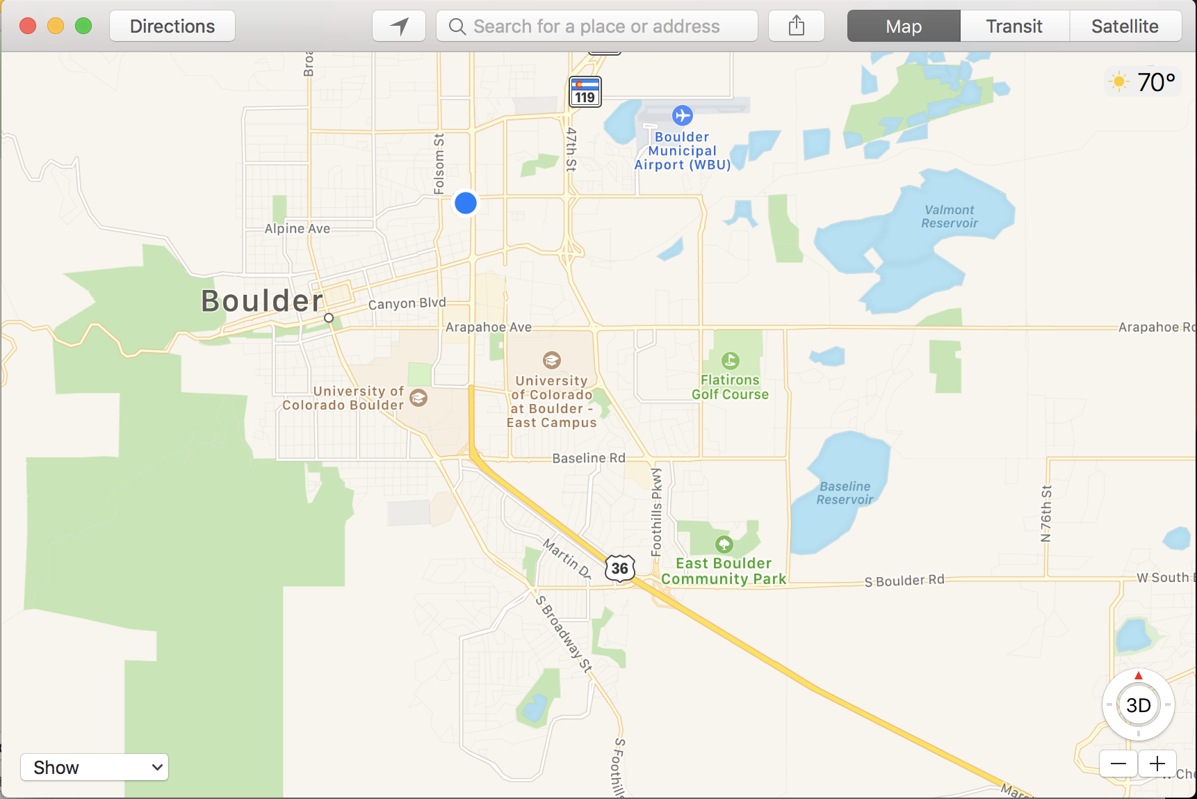 find me on a map, apple maps location