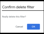 delete edit gmail mail filters