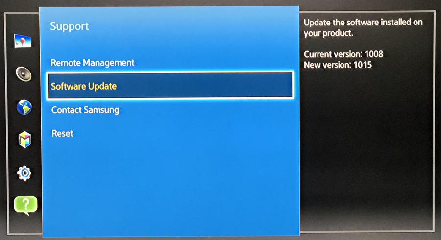 Update the firmware on my Samsung Blu-Ray Player? - Ask Dave