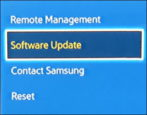 samsung blu-ray player firmware os system update status