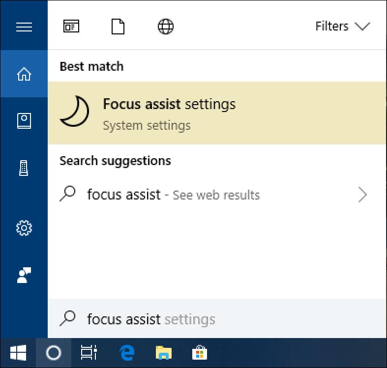 windows 10 start menu cortana search
