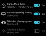 win10 windows notifications focus assist
