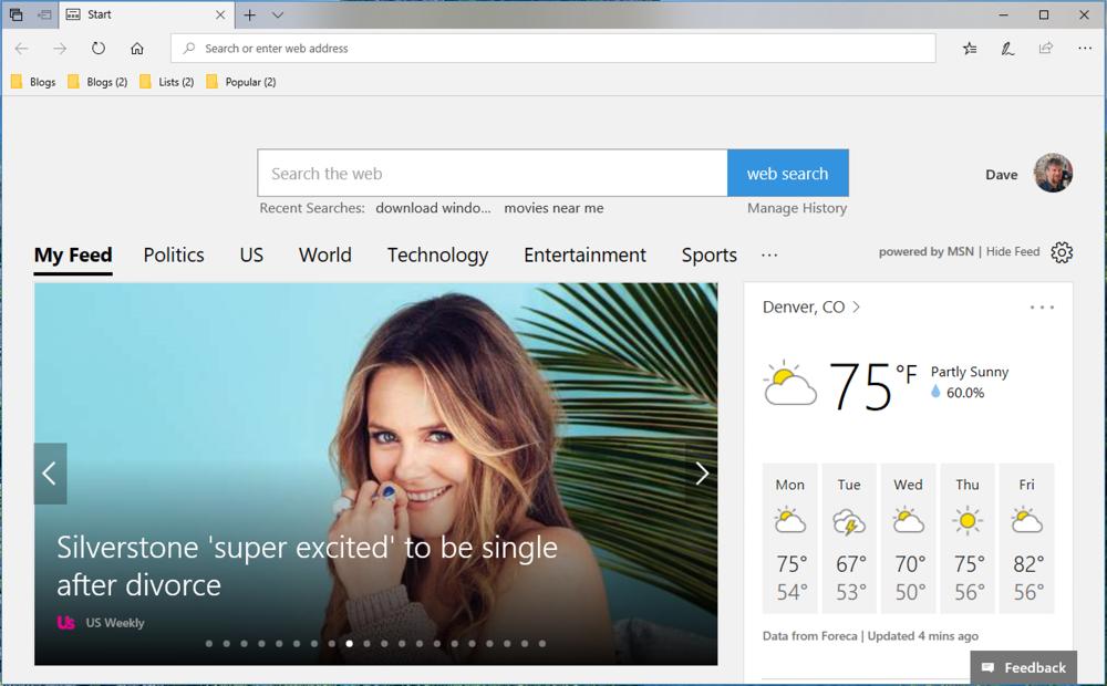 windows 10 win10 microsoft edge