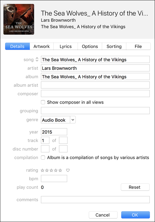 Turn iTunes Mp3 Into an Actual Audiobook? - Ask Dave Taylor