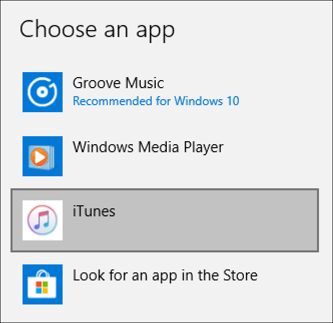 Change Default Win10 Music Player to iTunes? - Ask Dave Taylor