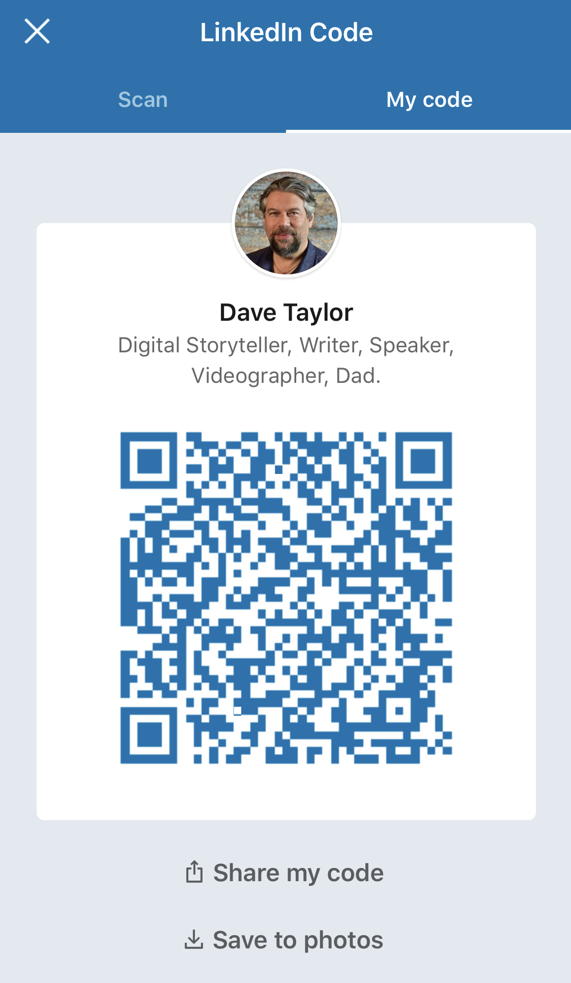 linkedin code qr code how to make generate