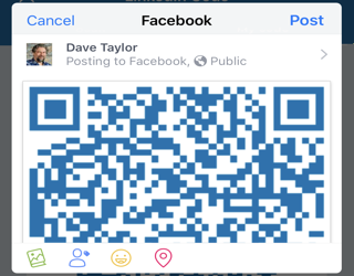 How Do I Generate a LinkedIn Profile QR Code? - Ask Dave Taylor