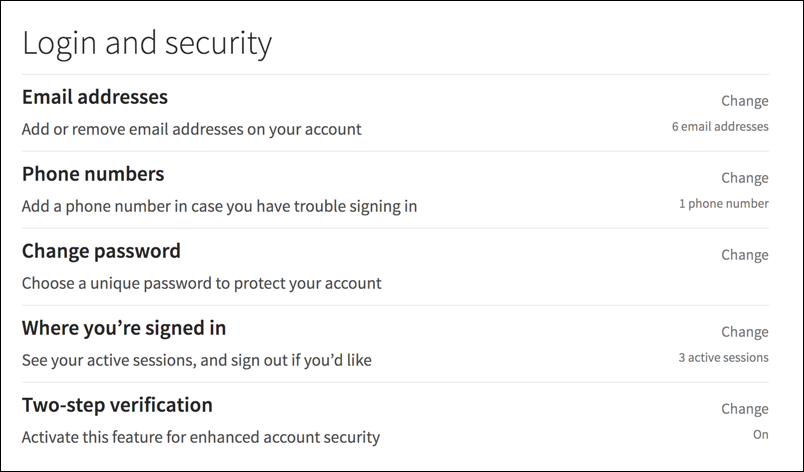 linkedin account settings & privacy