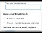change linkedin account password