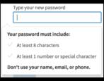 change linkedin account password