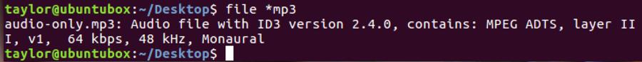ls file linux