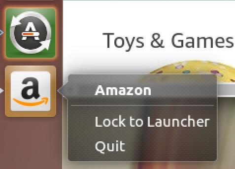 lock to launcher - ubuntu linux