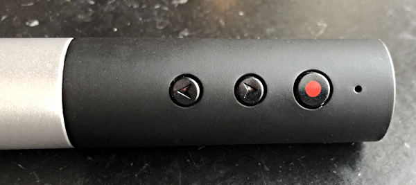 satechi laser pointer buttons