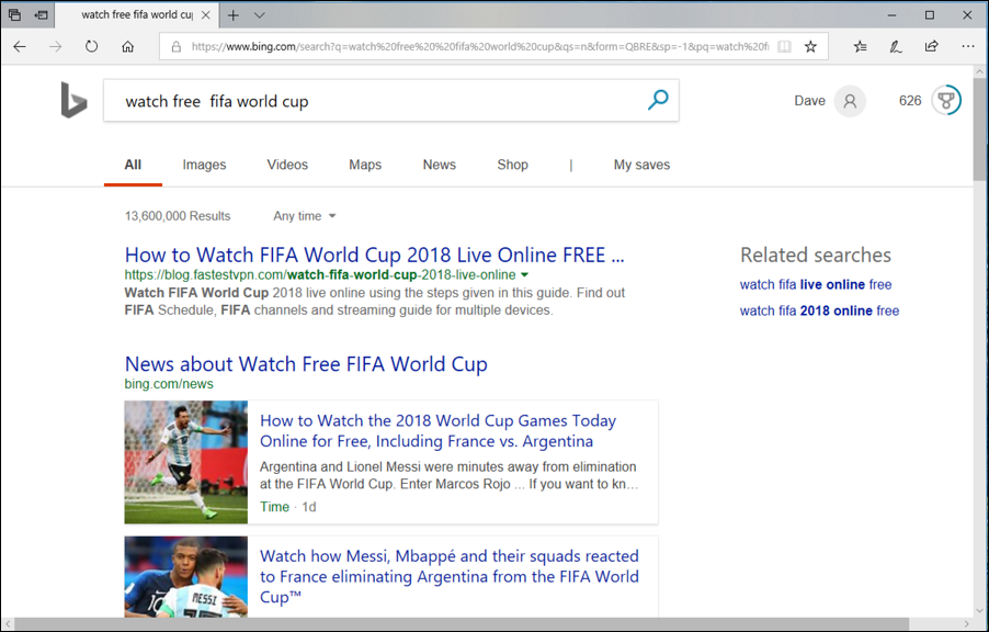 world cup live internet