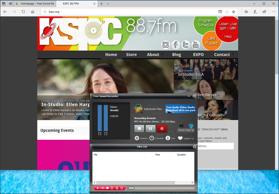 win10 record audio sound tool plus web site