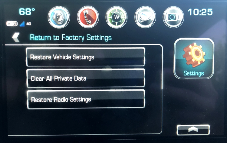 How do I Factory Reset Chevy MyLink for Privacy? - Ask Dave Taylor