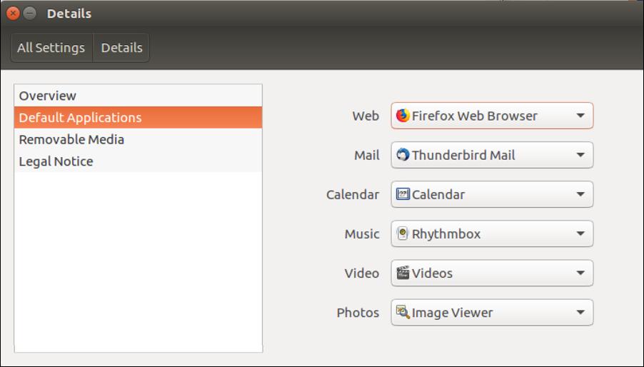 set app associations defaults ubuntu linux