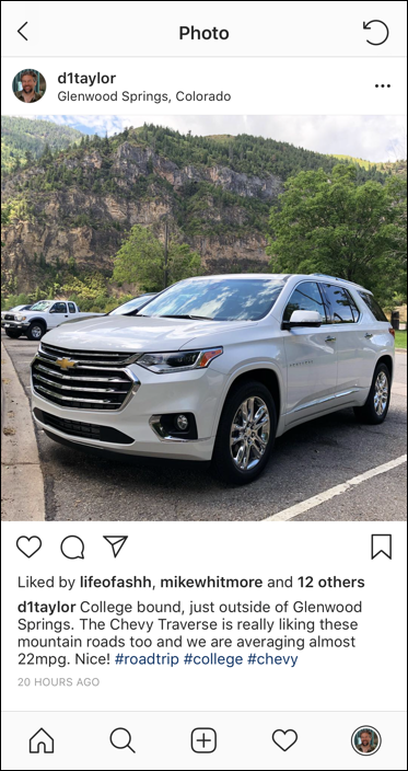 instagram post - needs extra hashtags