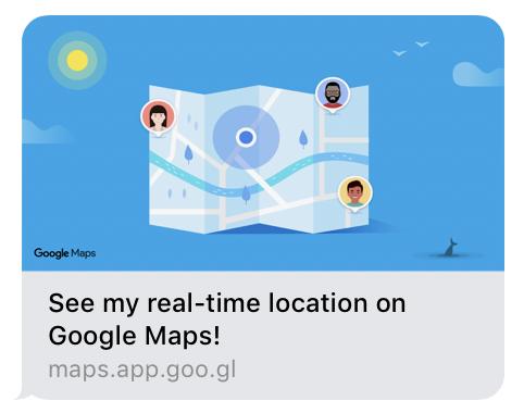 share location google maps