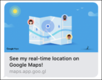 share location google maps location tracking android iphone