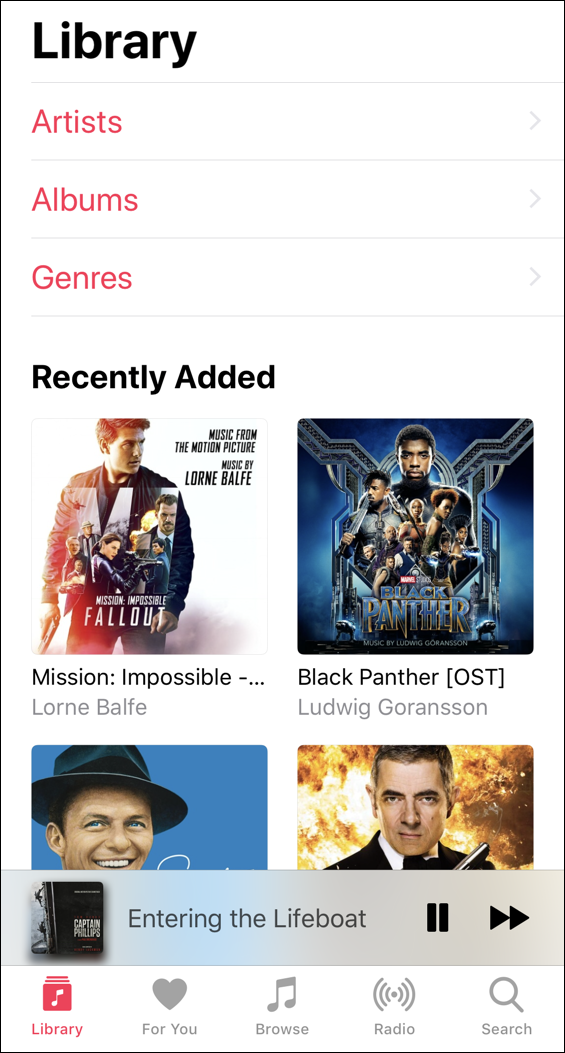 ios 11 iphone music app itunes player
