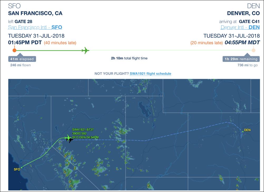 flightaware flight tracking map