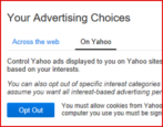 yahoo mail email scanning opt out disable privacy