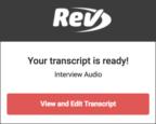 free cheap accurate transcription transcript service mp3