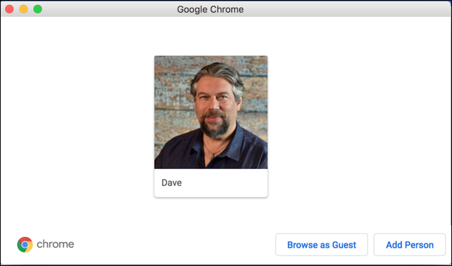 google chrome manage people / other people / guest