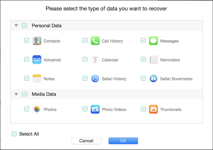 data to recover iphone phonerescue