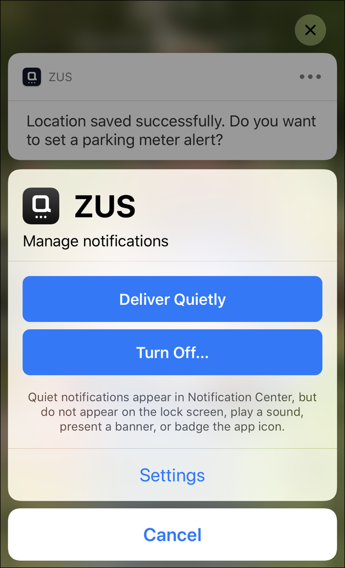 ios12 lock screen notification settings
