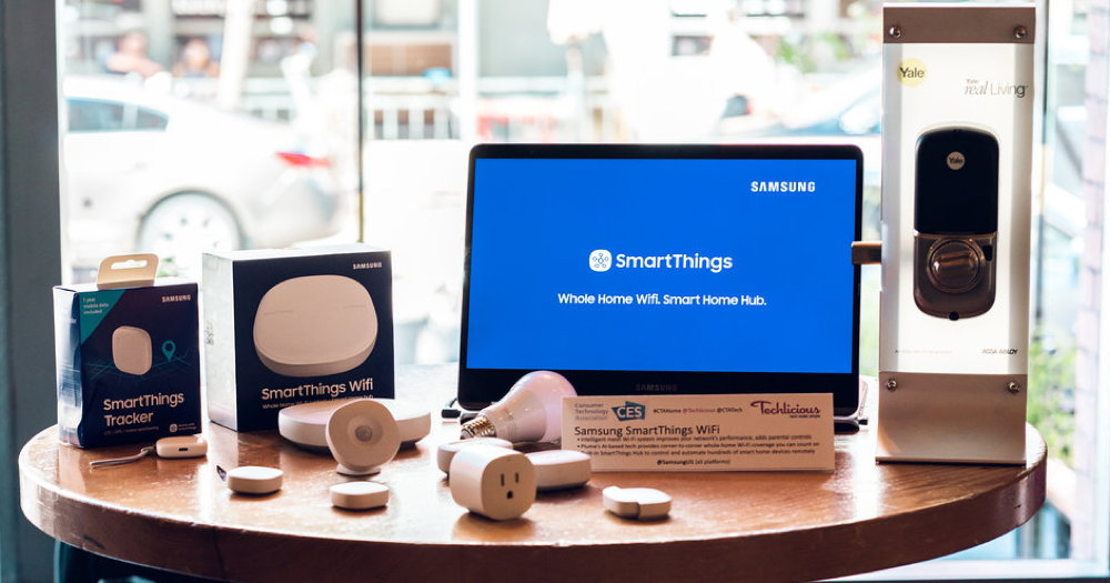 samsung smartthings 2018 second generation