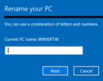 how to rename your windows 10 win10 pc computer system