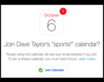 how to share mac ical calendar