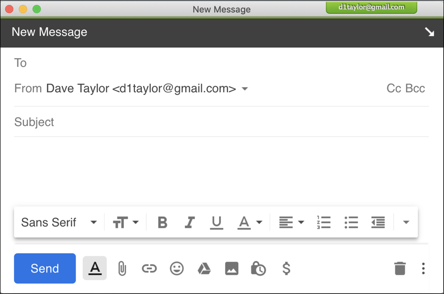 gmail compose window: no gfycat