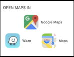 gmail iphone ipad ios change default map mapping app