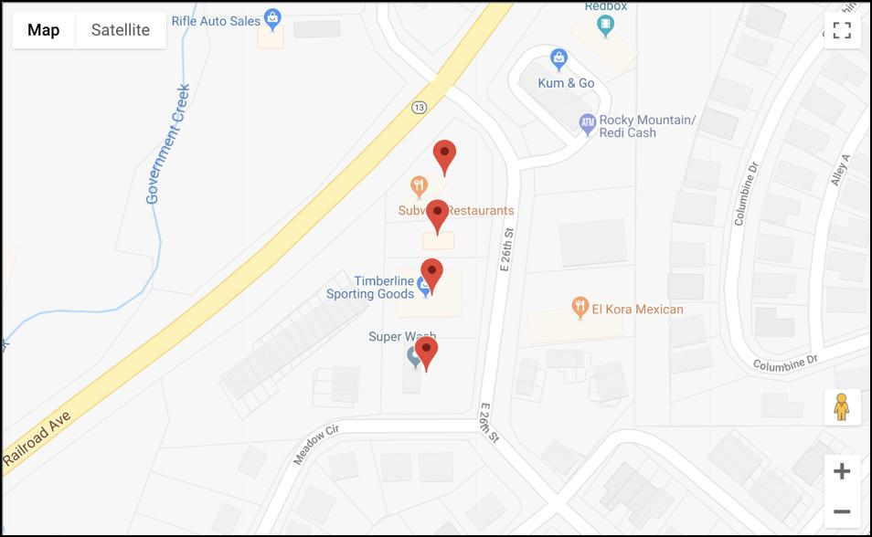 google map 9 digit zip code