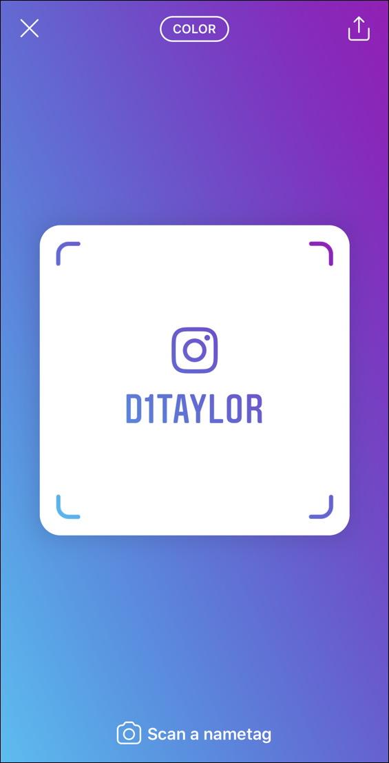 instagram d1taylor nametag