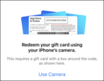 how to redeem itunes code gift card app store iphone ios12