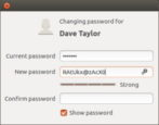 ubuntu linux - change user account password