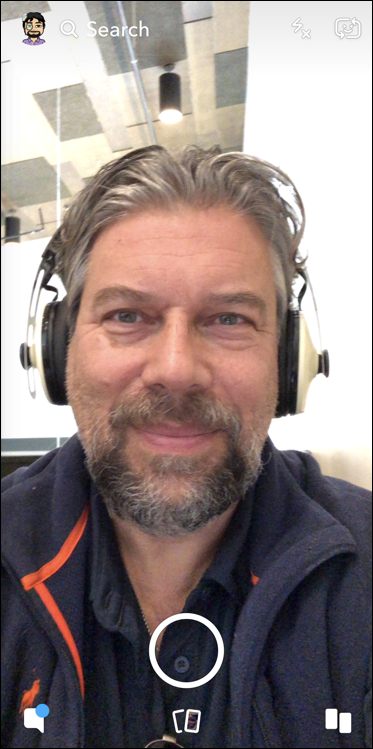 dave taylor selfie - snapchat