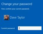 change win10 microsoft windows 10 account security password update new