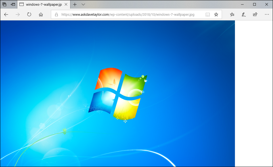 Add Windows 7 Wallpaper to a Windows 10 Computer? - Ask Dave