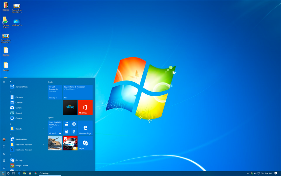 Add Windows 7 Wallpaper To A Windows 10 Computer Ask Dave Taylor