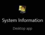 microsoft windows 10 system info information ram os disk