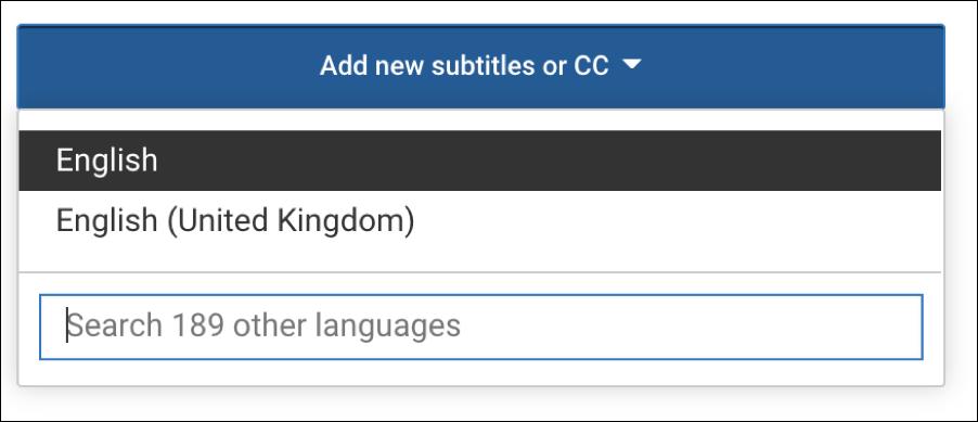add new subtitles cc youtube video