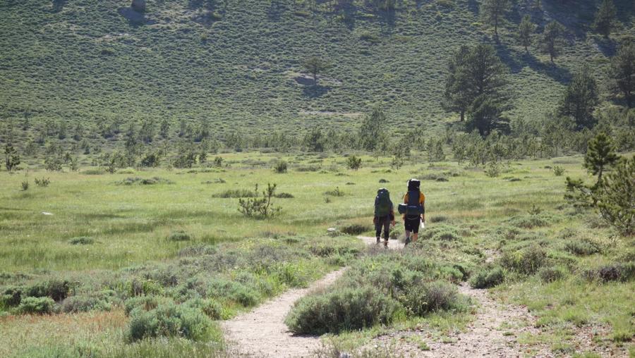 hiking RMNP Colorado