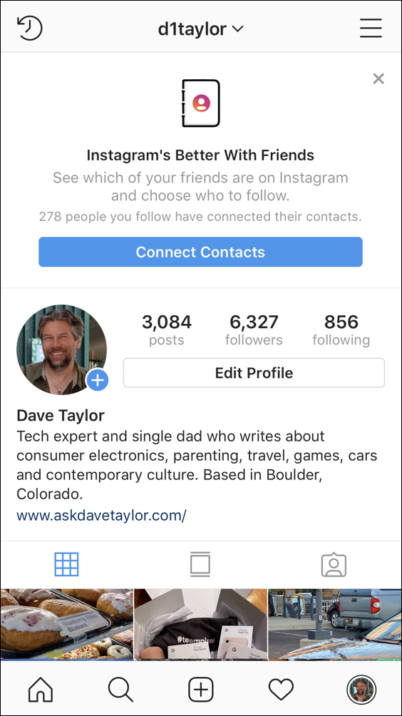 Instagram Unusual Login Attempt Warning? - Ask Dave Taylor