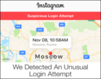 recover from instagram unusual login attempt suspicious